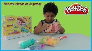 🌈 Play Doh El Dentista Bromista Set de Plastilina | Play Doh Doctor Drill