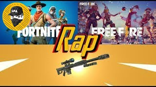 RAP FROM FREE FIRE VS FORTNITE OFFICIAL VIDEO (JONATHAN THE FUCKING MASTER)