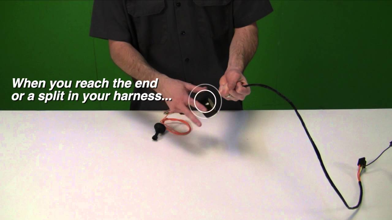 Properly Wrapping Your Harness Youtube Wire Ends