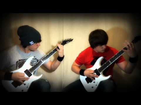 Slipknot - Wait and Bleed dual guitar cover