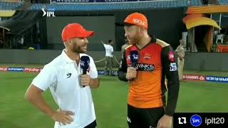 Sunrisers Hyderabad celebrating jhony bairstow's first Hundred in IPL!