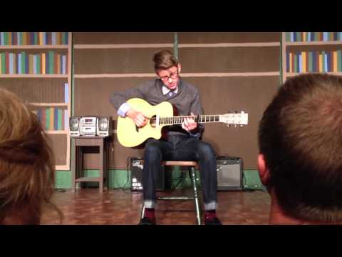 """""""Old Pine"""" Ben Howard Covered By Denton Latham (15) With Percussive"""
