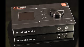 Zen Go Synergy Core audio interface from Antelope Audio - audio test