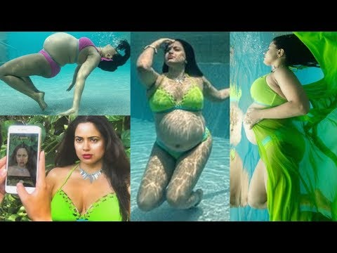 Sameera Reddy PREGNANT Bikini Underwater Photoshoot 2019 😍😍 Mp3