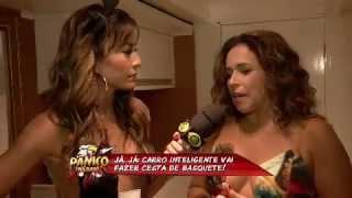 Sabrina entrevista Daniela Mercury - Pânico na Band 28/04/2013
