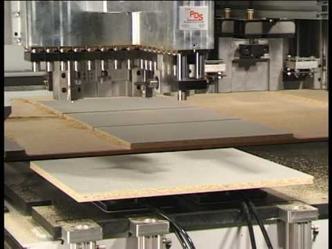Multicam CNC Cutting Center for european style cabinet  production.