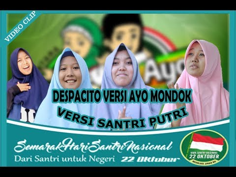 "DESPACITO Versi AYO MONDOK "" PUTRI "" (music Video) FULL HD"