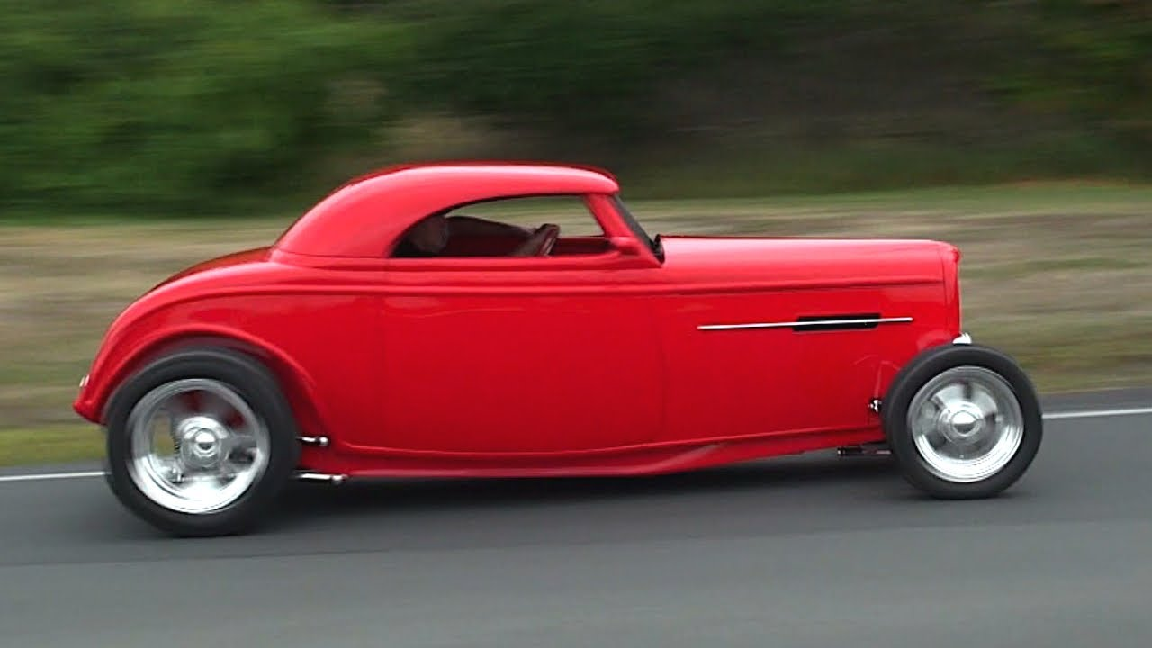 hot rod car rally in new zealand youtube