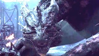 Dragon vs Humans - Dragon Burn The City-Village HD
