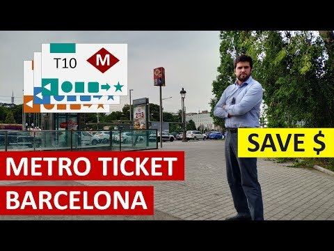How To Buy Metro Tickets In Barcelona And Save Money Ⓜ️💲