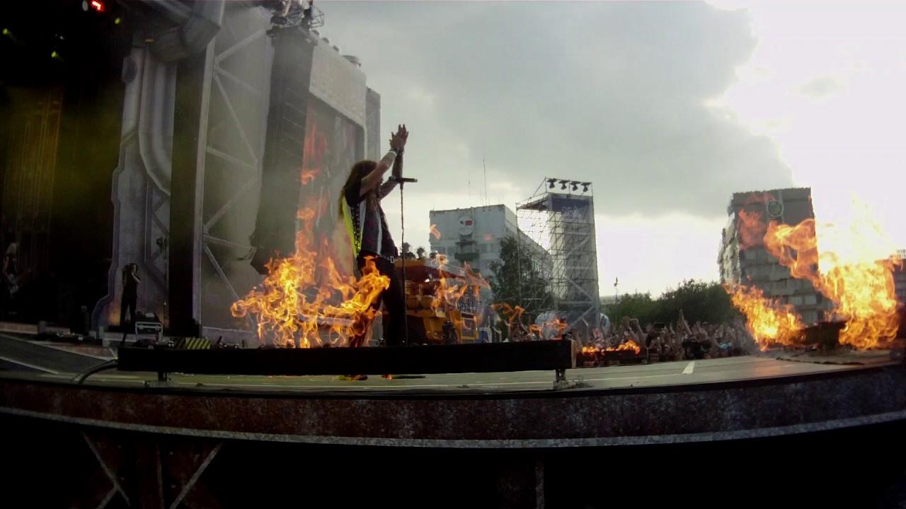 HammerFall - Joacim Cans Ballada - Герои Мирового Рока Кемерово 2019