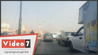 خريطة الحالة المرورية فى الأسبوع الأول للدراسة بالقاهرة الكبرى