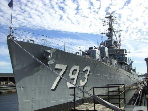 USS Cassin Young DD-793, Boston Navy Yard, Boston, Massachusetts, United States