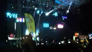 Colapsa equipo de luz y sonido David Guetta