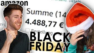 4800€ in 1 Stunde | Amazon Black Friday Special