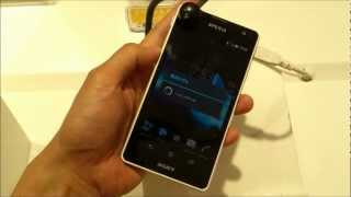 Xperia GX(SO-04D) First Impression