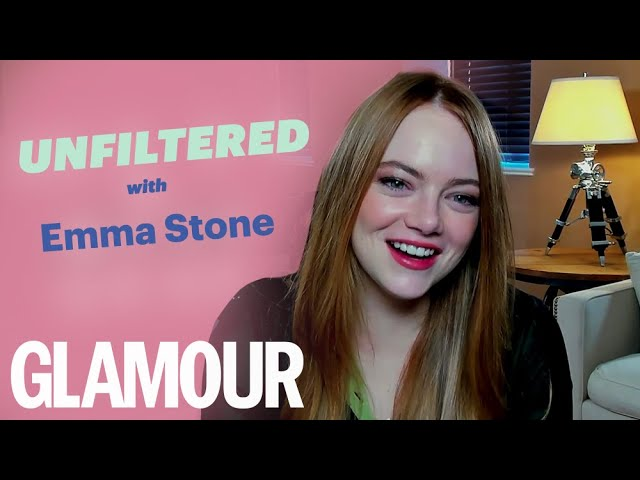 Emma Stone On Playing Cruella & How It Felt To Be A Baddie | GLAMOUR Unfiltered