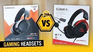 SteelSeries Arctis 3 vs. HyperX Cloud 2 - Gaming Headsets under $100