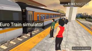 Top 3 best Train simulator games for android  | Ultra graphics|