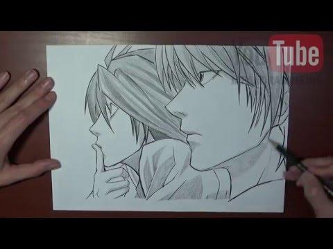 Yagami Light Art