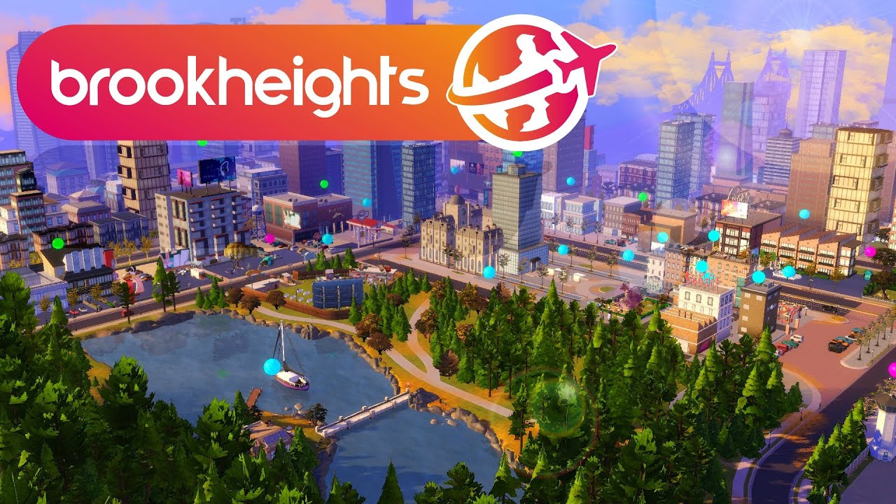 OPEN WORLD AND CARS IN THE SIMS 🏙️✈️ Sims 4 Brookheights