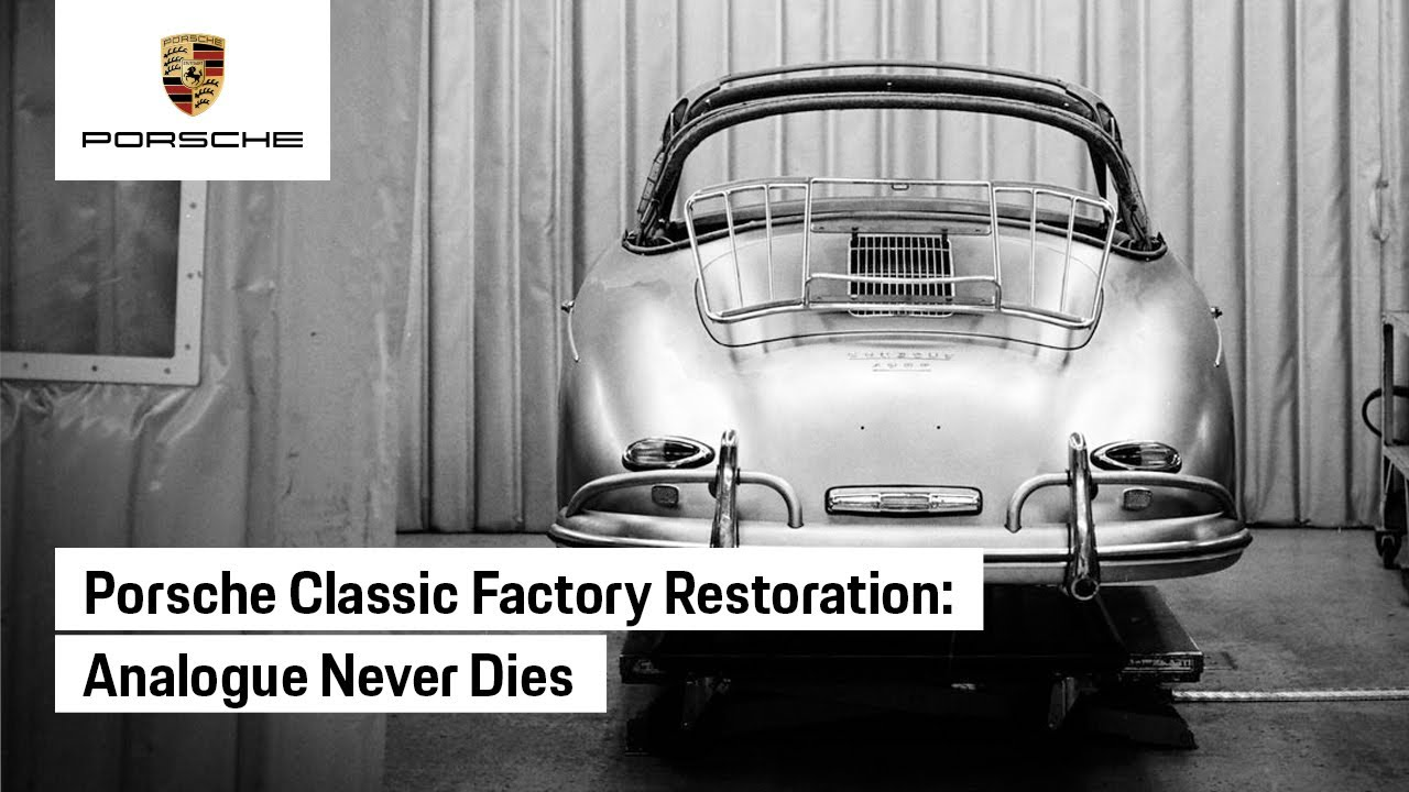 Porsche Presents: Analogue Never Dies