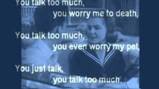 Joe Jones - You Talk Too Much