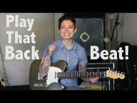 Guitar Tips & Tricks #32:How to play a BackBeat - Jen Trani