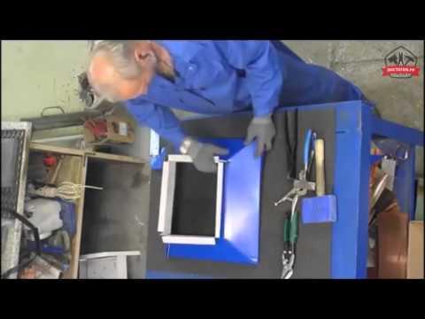 Как согнуть колпак из листового металла