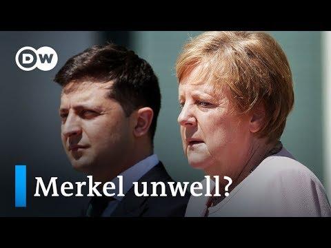 Germany: Merkel shakes