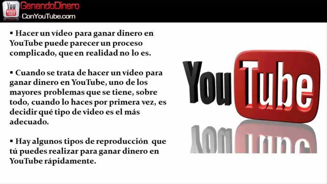 Como hacer un video para youtube 3 tipos de video para for Tipos de estanques para acuicultura