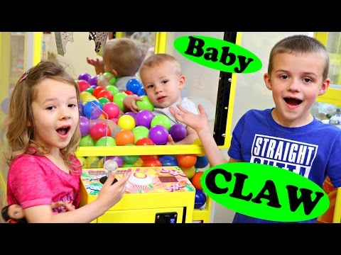 Thumbnail: Best Learning Colors Video For Kids Claw Machine Counting & Educational Color Balls Video