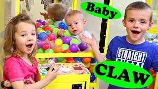 Best Learning Colors Video For Kids Claw Machine Counting & Educational Color Balls Video
