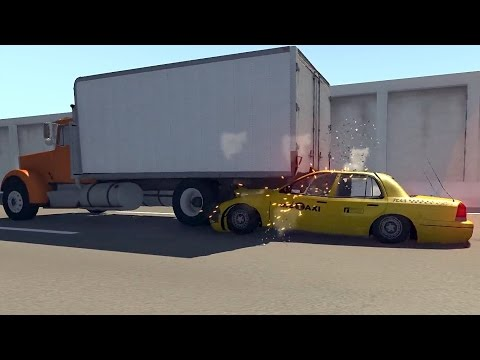 Underride Guard Crash Tests - BeamNG.drive