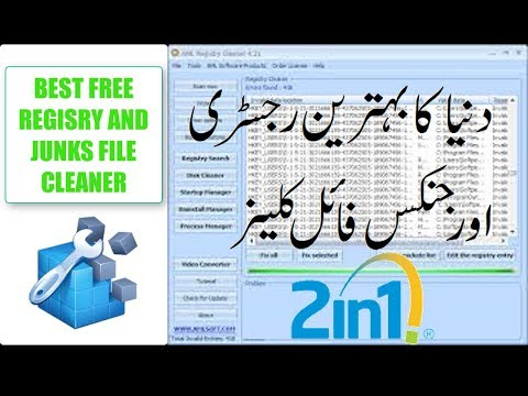 Best Free Registry Cleaner And  Junks File Cleaner In Hindi Urdu By Easy Steps