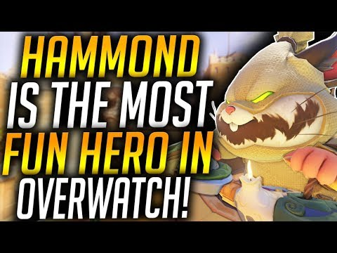 HAMMOND IS THE MOST FUN HERO IN OVERWATCH thumbnail