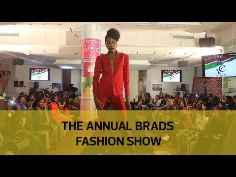 The annual Brads Fashion show