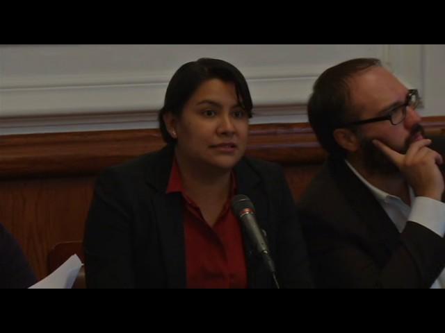 Palabras de la Dra. Perla Gómez en la mesa de trabajo sobre presupuesto 2017 en la ALDF