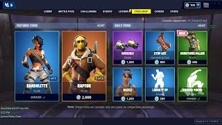 NEW DAILY ITEM SHOP UPDATE NOW MARCH 11th NEW SKINS - FORTNITE BATTLE ROYALE LIVE!