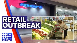 Coronavirus: Five cases of COVID-19 across major retailers | Nine News Australia