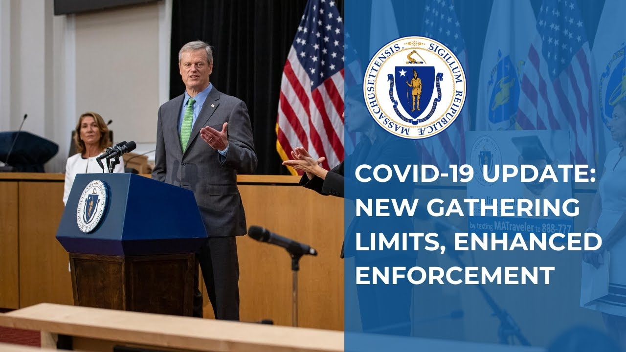 COVID-19 Update: Lower Gathering Limit, Enhanced Enforcement