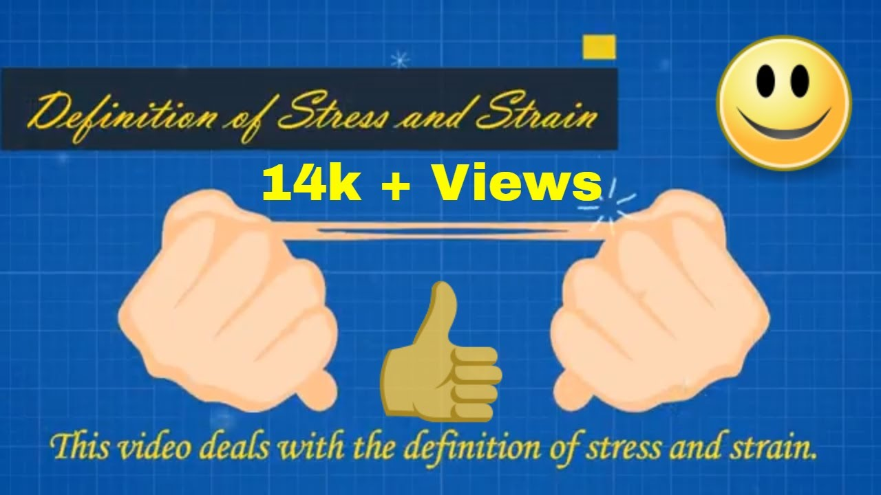 stress and strain definition// what is stress and strain // what is