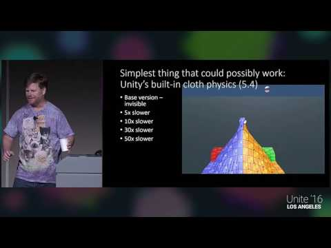 Unite 2016 - GPU Accelerated High Resolution Cloth Simulation