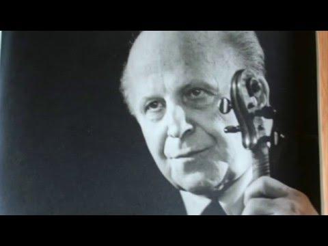 Mendelssohn Concerto Masterclass - Louis Persinger