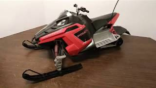 The Disassembly of a Rc Rush Snowmobile