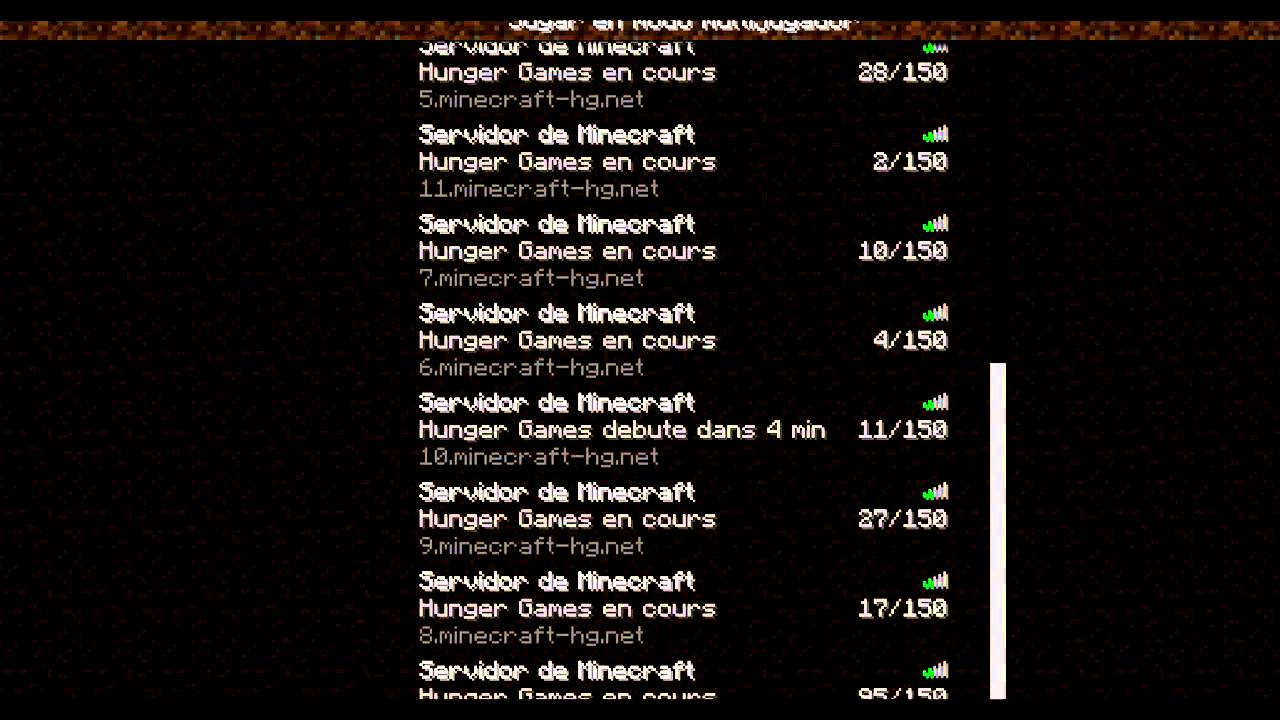 minecraft 1 11 2 hunger games servers | Wajigame co