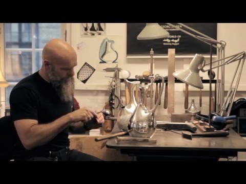 Silversmith Jesper Nordø on making a Georg Jensen icon