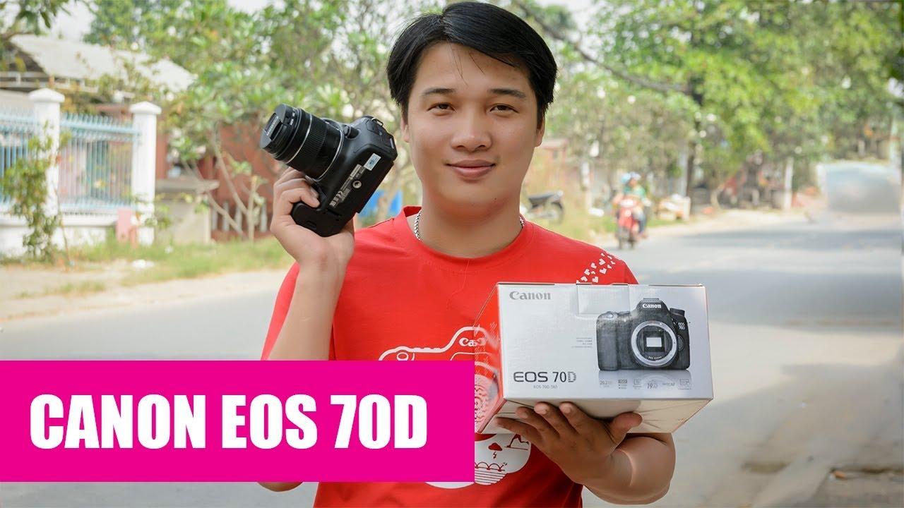 Trên tay Canon EOS 70D chính hãng Lê Bảo Minh