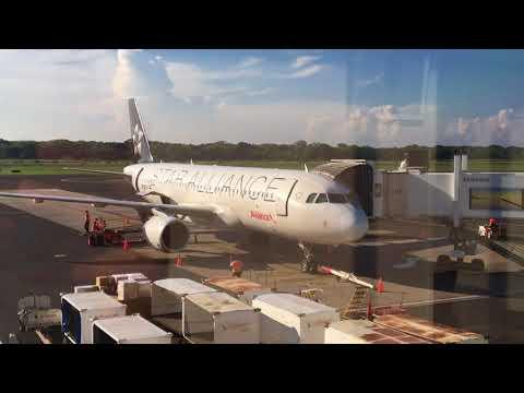 FLIGHT REVIEW: Avianca 671     New York - San Salvador - San José