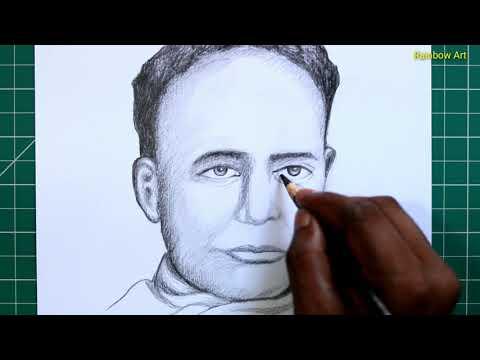 vidyasagar /pencil drawing /rainbow art